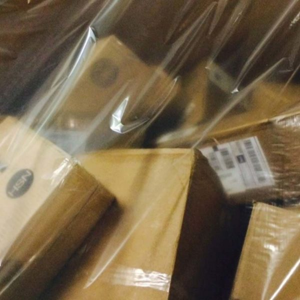 General merchandise by pallets