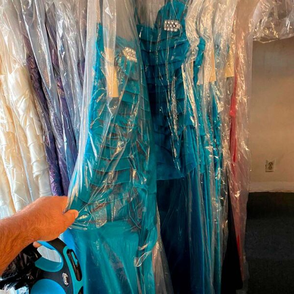Wholesale liquidation of prom dresses