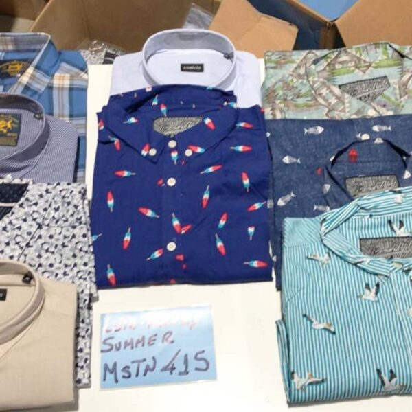 wholesale lot of men's clothing